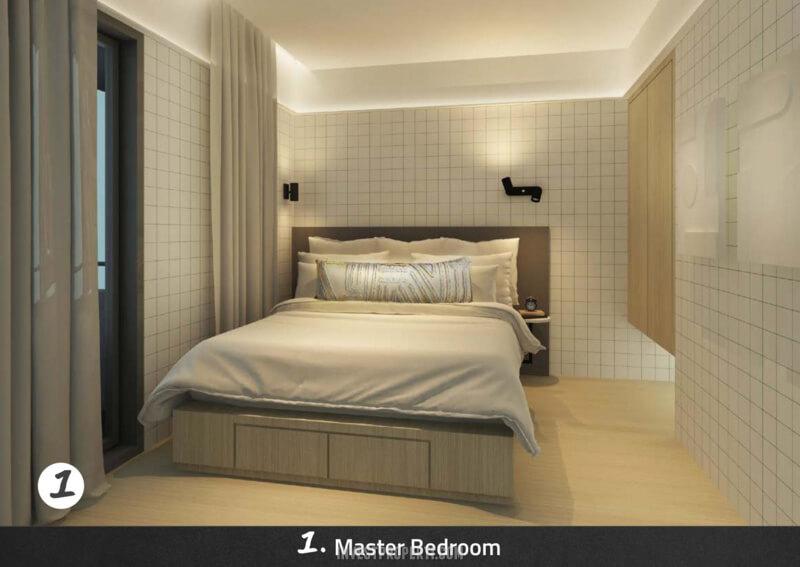 Master Bedroom Rumah Impresahaus BSD