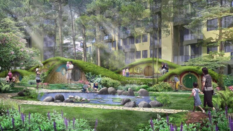 Rainbow Springs Condovillas Garden