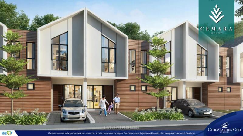 Rumah Cluster AeroHome Cemara House CitraGarden City