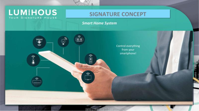 Smart Home System Rumah LumiHous Cibubur
