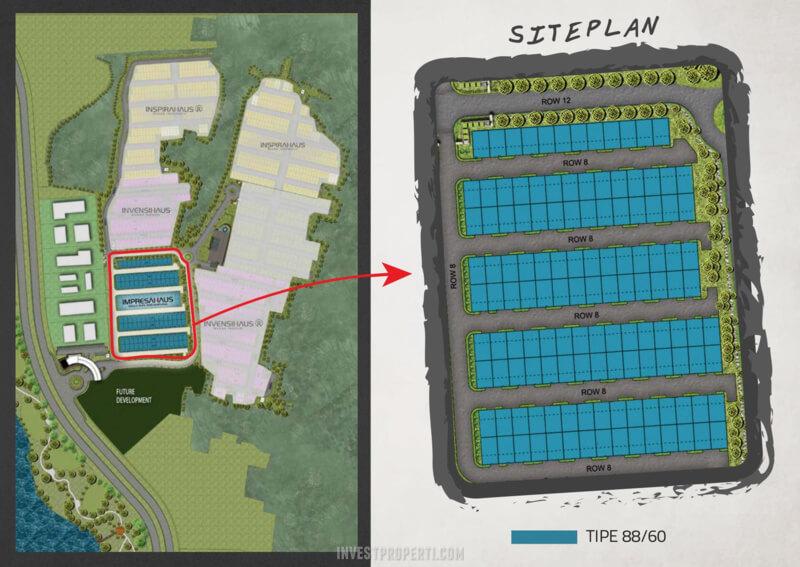 Siteplan Klaster Impresahaus BSD