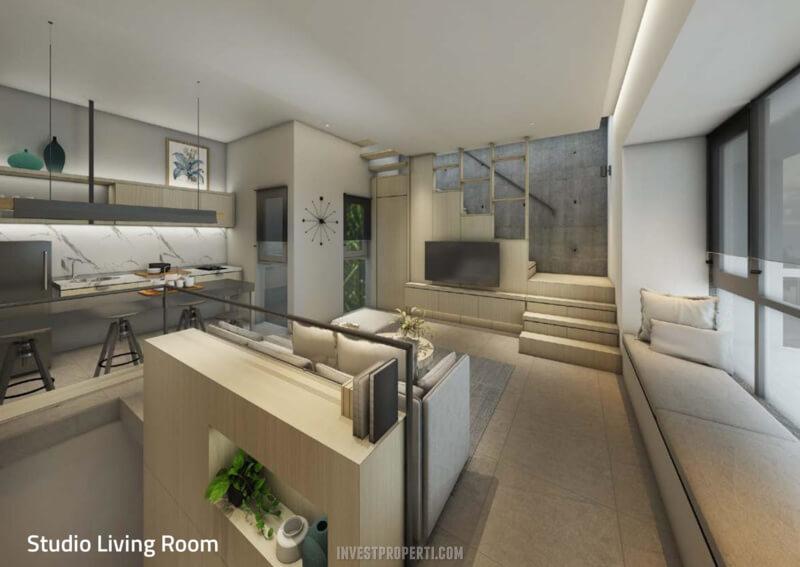 Studio Living Room Rumah Impresahaus