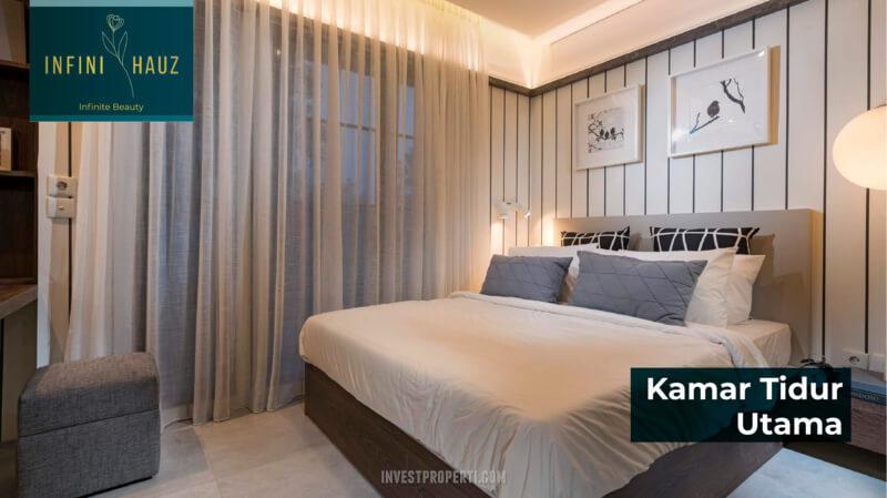 Design Interior Rumah InfiniHauz - Master Bedroom