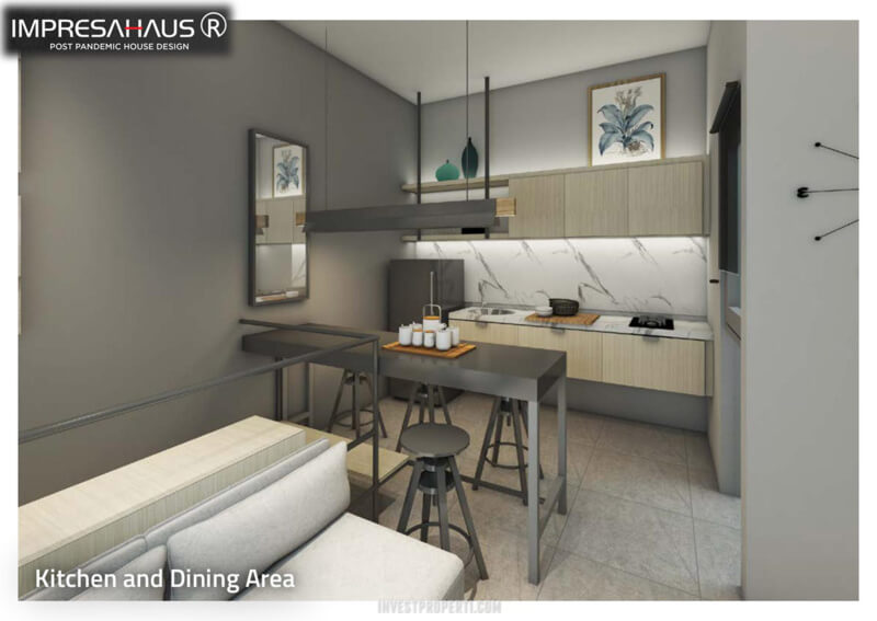 Design Kitchen Rumah ImpresaHaus R