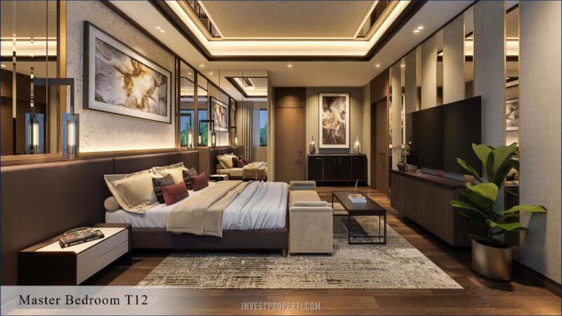 Living Room Rumah Kiyomi The Zora BSD Tipe 12