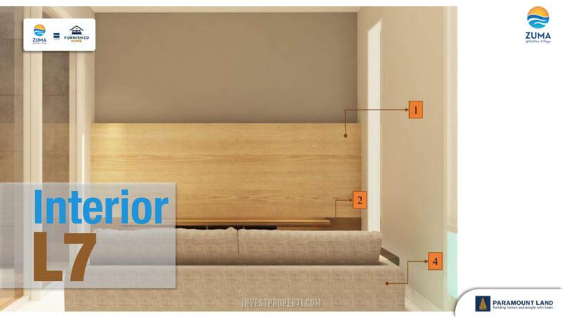 Furniture Rumah Zuma Malibu Village Tipe L7 - Living room