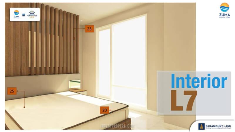 Furniture Rumah Zuma Malibu Village Tipe L7 - Master Bedroom