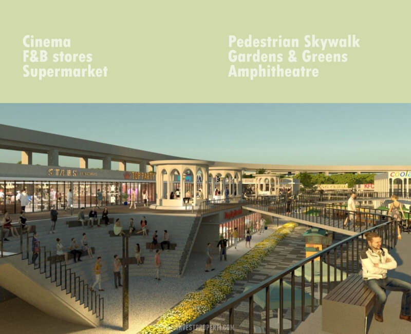 Open Concept Retail Talaga Bestari