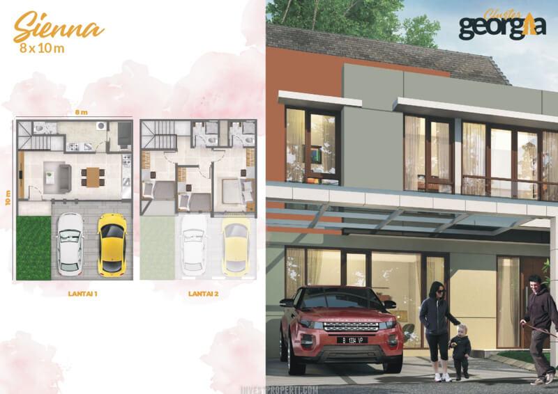 Rumah Georgia PIK2 - SIENNA