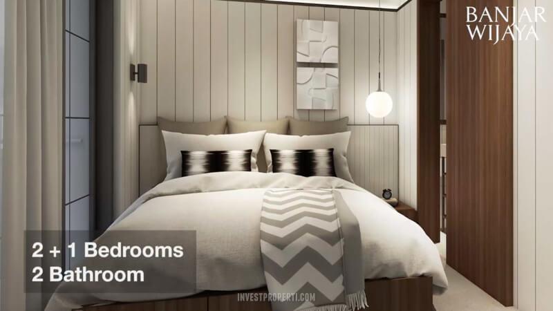 Rumah Infini Hauz Banjar Wijaya - Bedroom Design