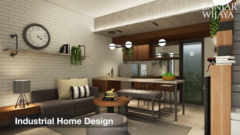 Rumah Infini Hauz Banjar Wijaya Kitchen Design