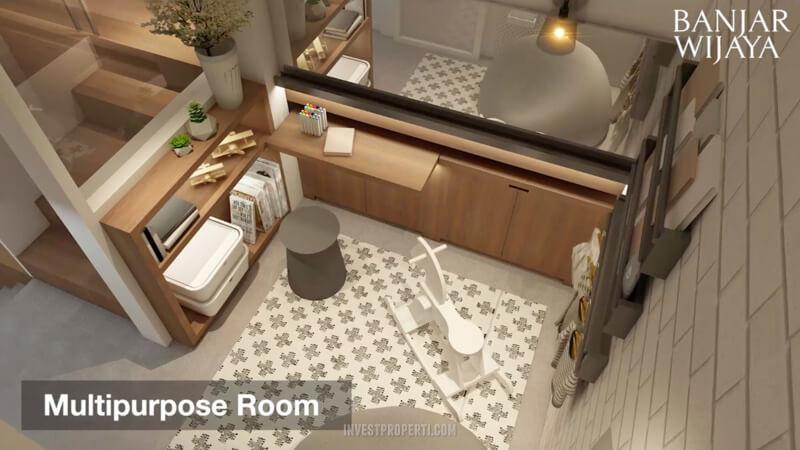 Rumah Infini Hauz Banjar Wijaya Multipurpose Room