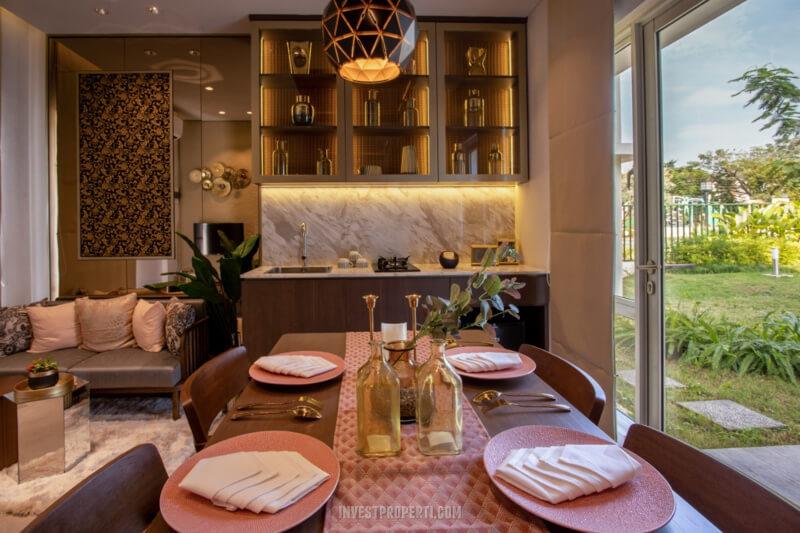 Show Unit Rumah Vista Residence - Dining Room