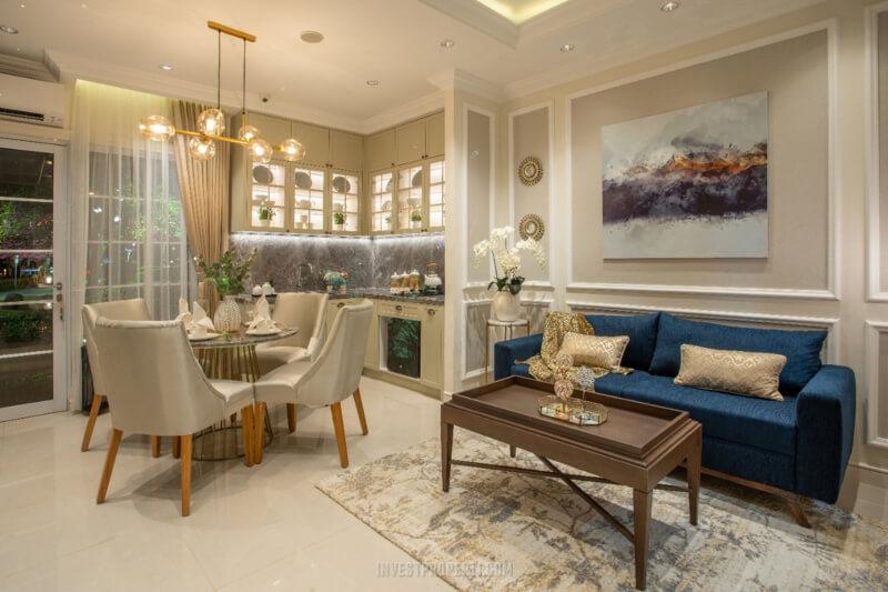 Show Unit Rumah Vista Residence - Living Room