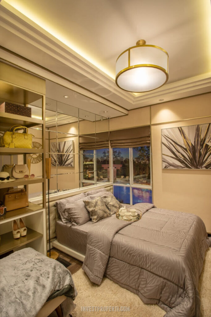 Show Unit Rumah Vista Residence - Master Bedroom