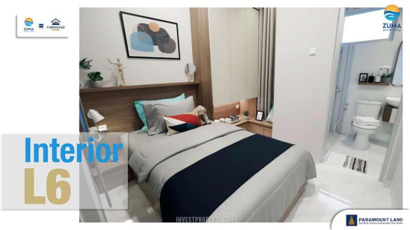 Show Unit Rumah Zuma Malibu Village Tipe L6 - Bedroom