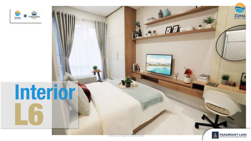 Show Unit Rumah Zuma Malibu Village Tipe L6 - Master Bedroom