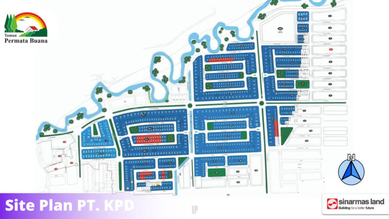 Stok Kavling Taman Permata Buana Jakarta Barat
