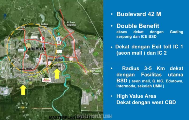Tabebuya BSD Location