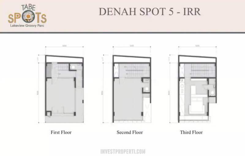 TabeSpots BSD Denah Spot 5 IRR