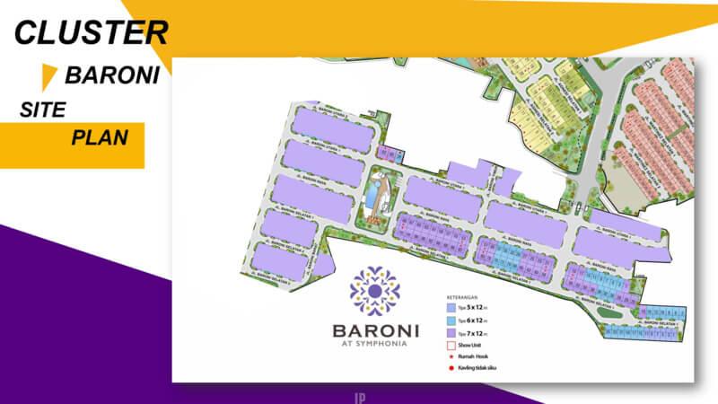 SiteplanCluster Baroni Symphonia Serpong