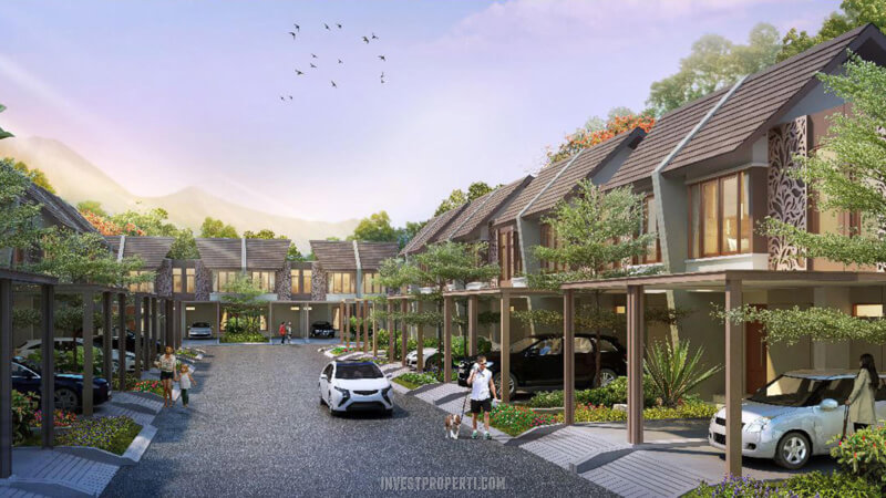 Cluster Rumah The Cottage Podomoro River View