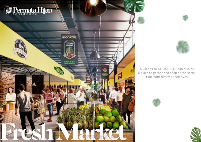 Fasilitas Fresh Market PIK2