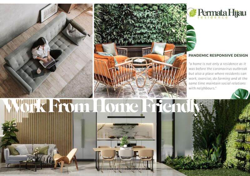 Fitur Rumah Permata Hijau Residence PIK2 - WFH