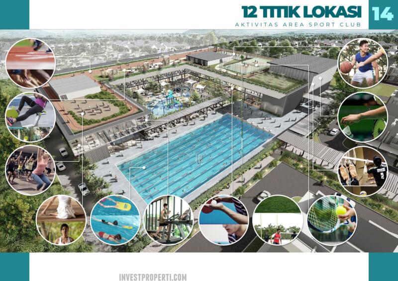 PIK 2 Sport Club Rumah Milenial