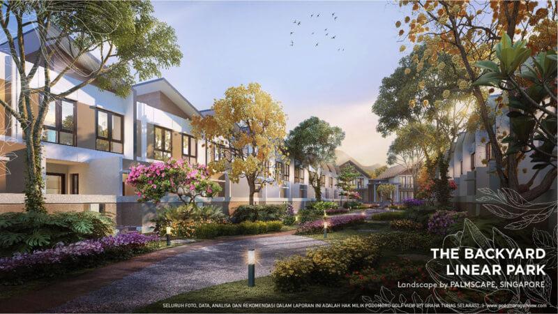 Private Resort Club House PRV - Backyard