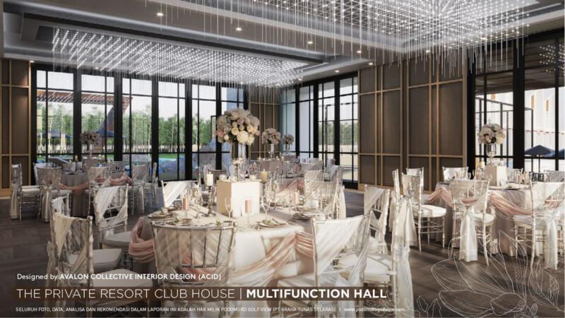 Private Resort Club House PRV - Multi Hall Function
