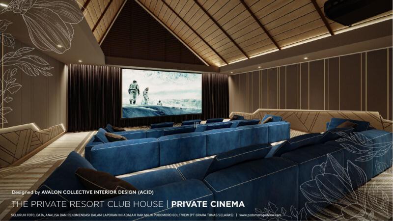 Private Resort Club House PRV - Private Cinema