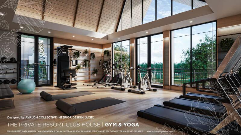 Private Resort Club House PRV - Yoga and Gym