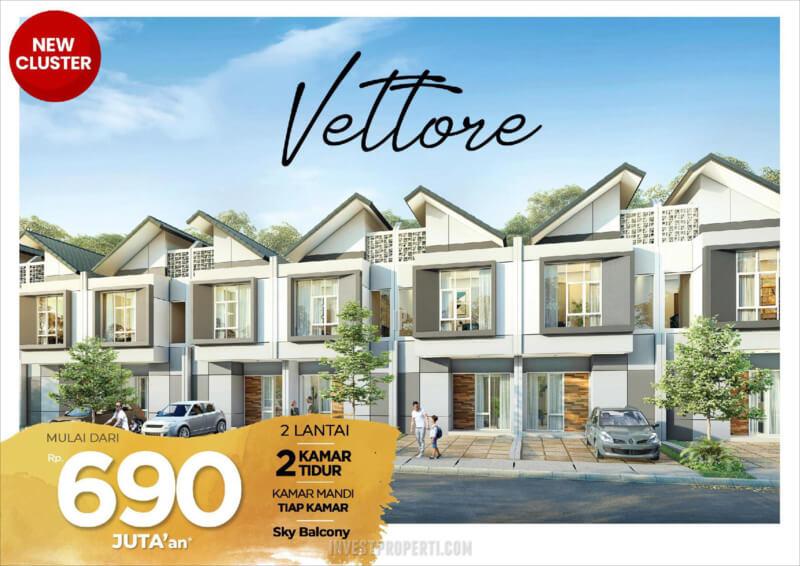 Rumah Cluster Vittore PHR Bekasi