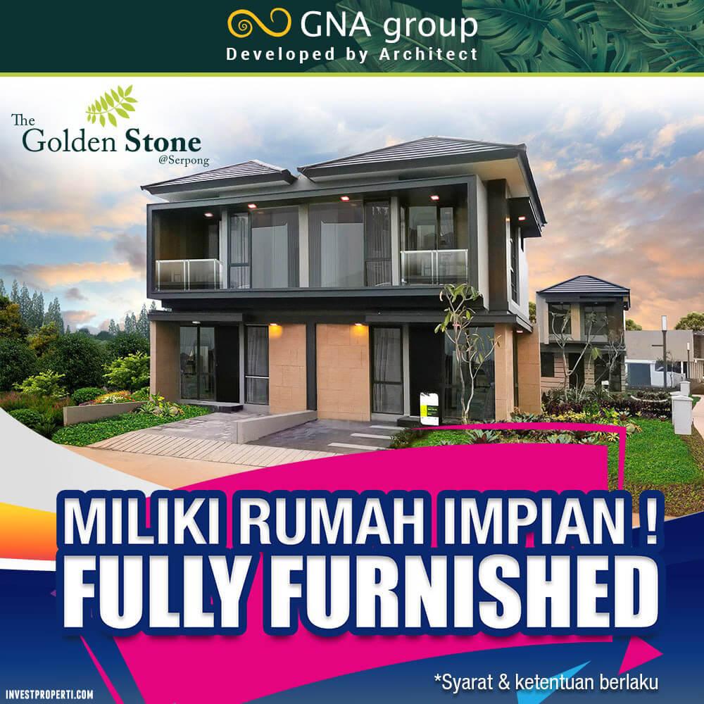 Promo Rumah Golden Stoen Serpong Full Furnish