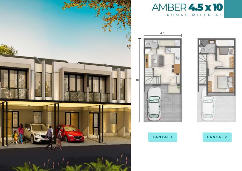 Rumah Milenial PIK2 Cluster Florida 4.5x10