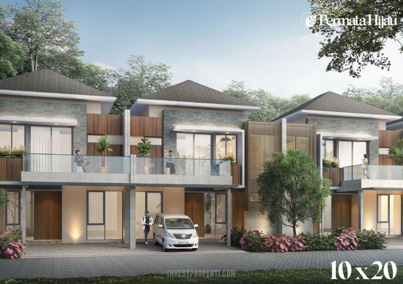 Rumah Permata Hijau Residence PIK 2 Tipe 10x20