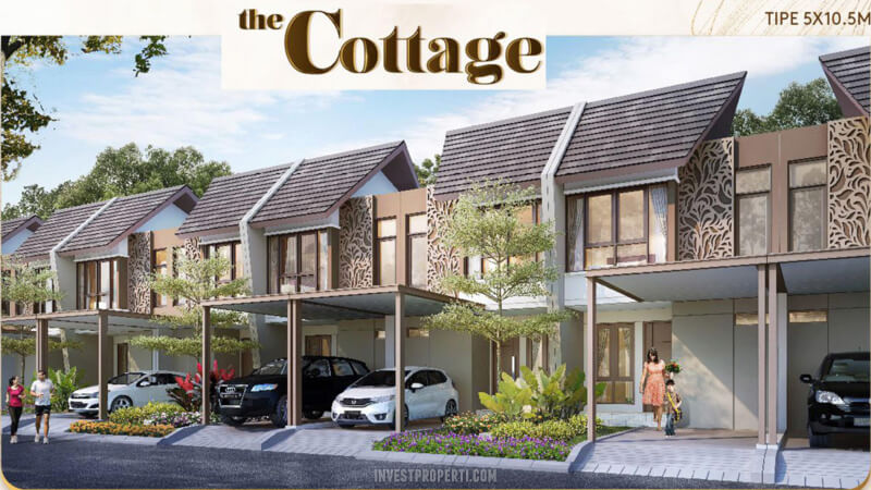 Rumah The Cottage Podomoro River View