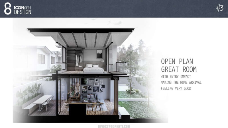 Cendana Icon House Design - Open Plan