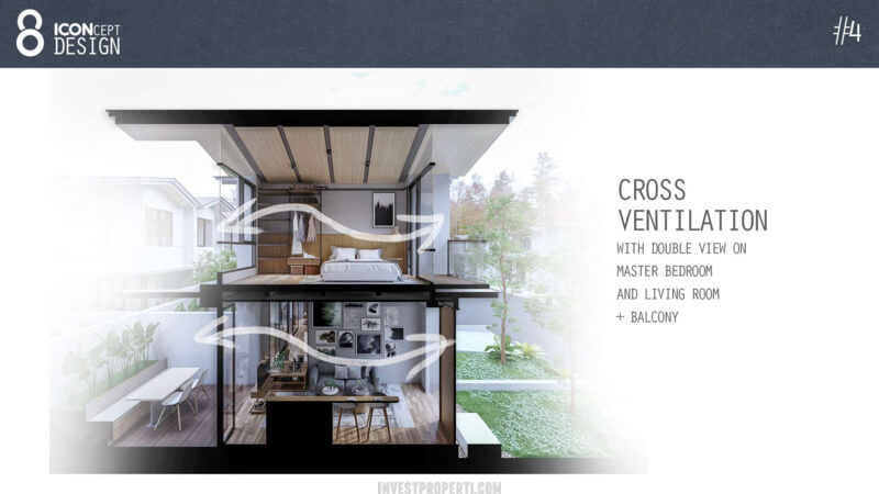 Cendana Icon House Design - Cross Ventilation