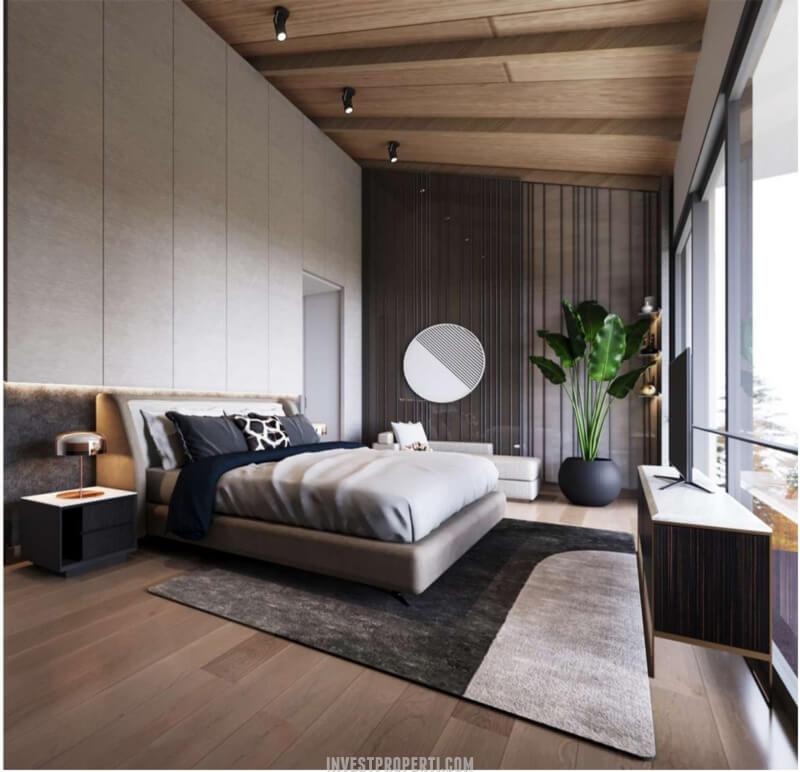 Desain Ruko Icon Plaza Lippo Karawaci Lantai 3