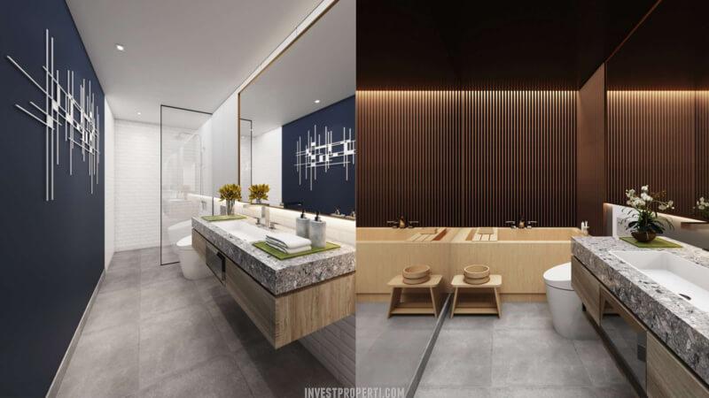 Desain Toilet Ruko Icon Plaza Lippo Karawaci