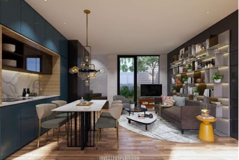 Interior Rumah Cendana Icon Tipe Icon Villa - Living Room