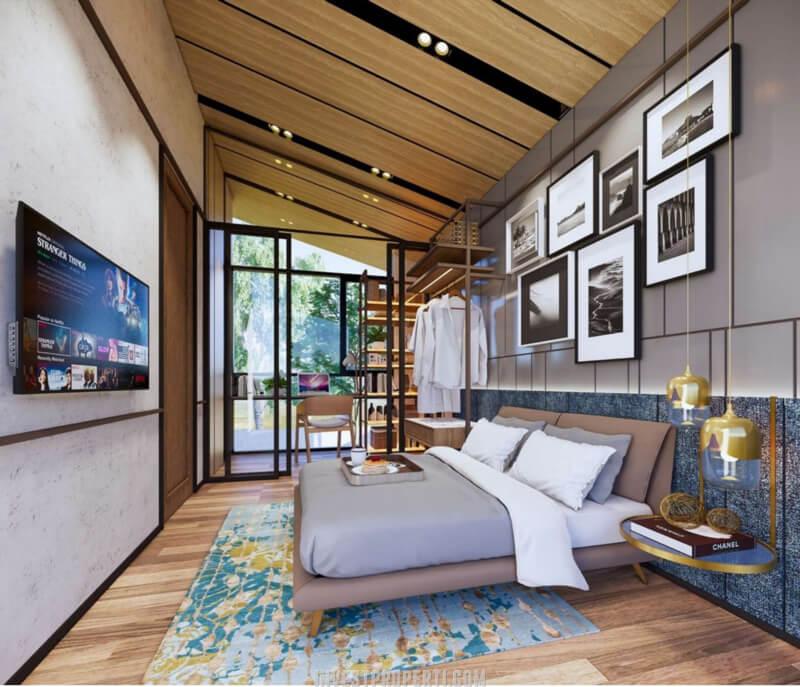 Interior Rumah Cendana Icon Tipe Icon Villa - Master Bedroom
