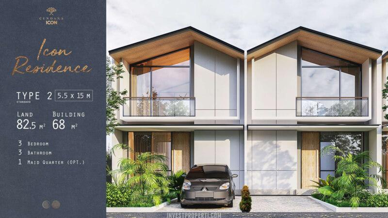 Rumah Cendana Icon Tipe Icon Residence