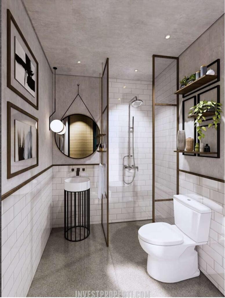 Interior Rumah Cendana Icon Tipe Icon Residence - Toilet