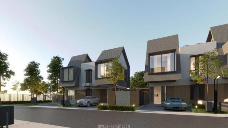 Rumah The Terrace Shila Sawangan