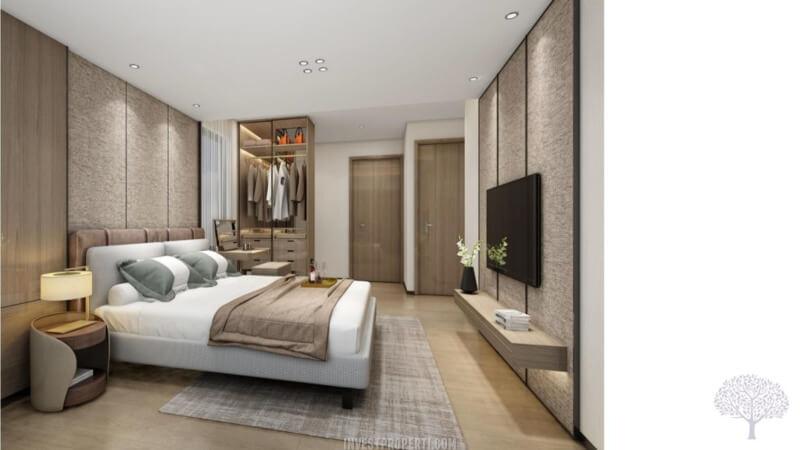Interior Rumah The Terrace Shila Sawangan - Master Bedroom