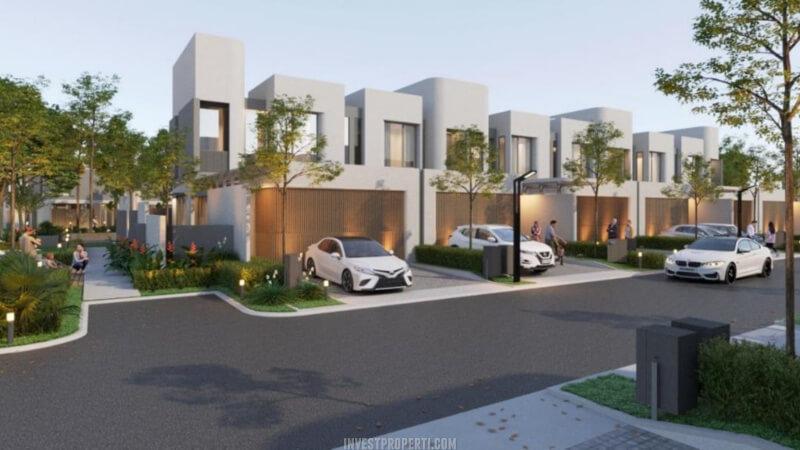 Rumah The Courtyard Shila Sawangan