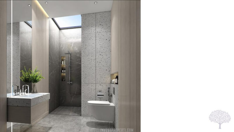 Interior Rumah The Courtyard Shila Sawangan - Bathroom